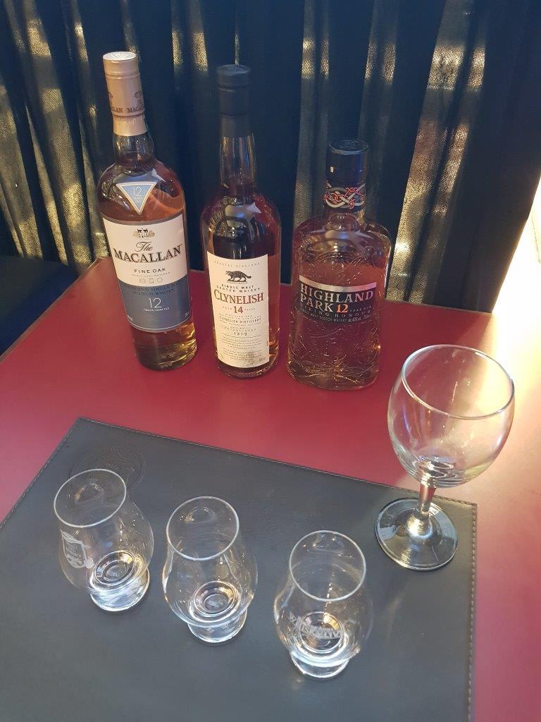 Degustación exclusiva en el Museo del Whisky.