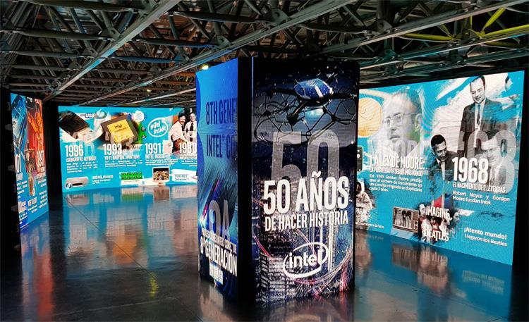 50 Aniversario Intel